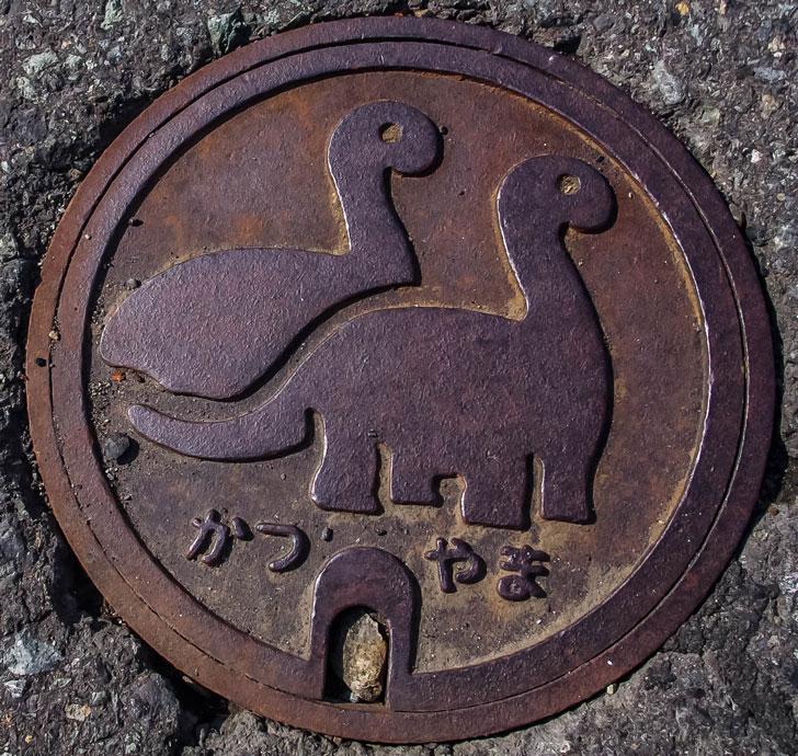 【蓋】福井県立恐竜博物館のマンホール