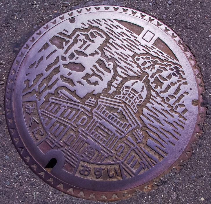 【蓋】福井県坂井市(旧三国町地区)のマンホール