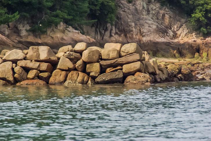 【水軍の城】甘崎城で海に沈む石垣に感動してみた